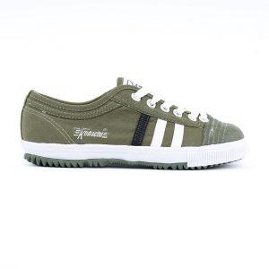 Sepatu capung kodachi 8175 OLIVE GREEN BLACK STRIPE ykraya 1 g