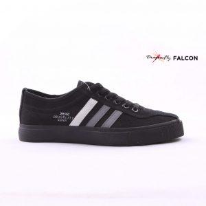 sepatu dragonfly falcon all black hitam